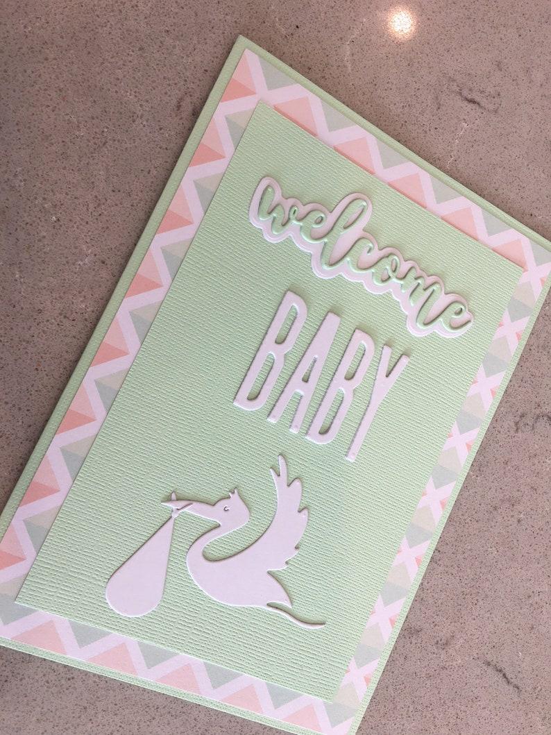 Baby card gender neutral