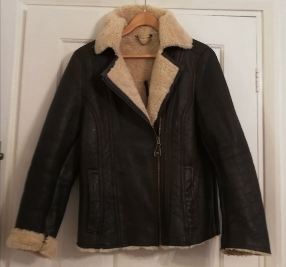 Real sheepskin ladies Jacket made in England