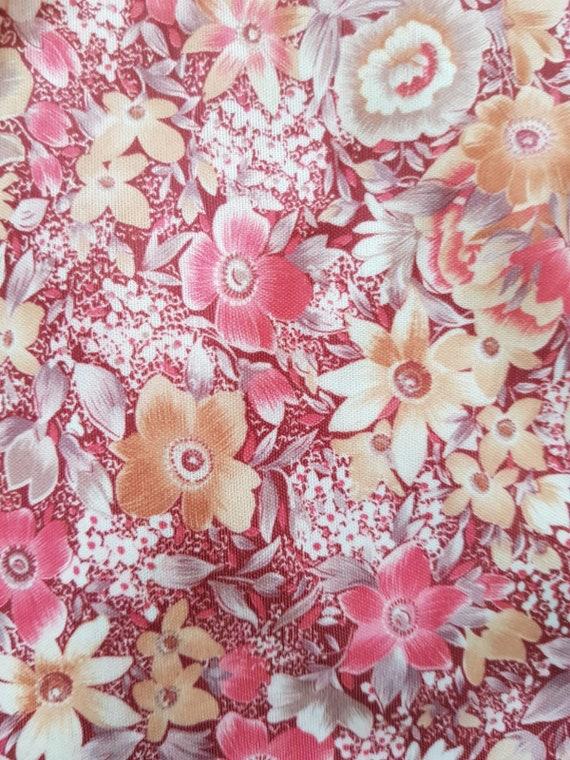 Vintage tent dress, 60s floral dress, summer beac… - image 6