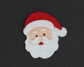 Santa Magnet Etsy