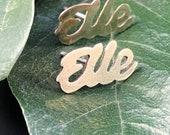 Elle Gender Affirming Stud Earrings