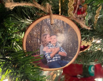 Memory Picture Wood Ornaments