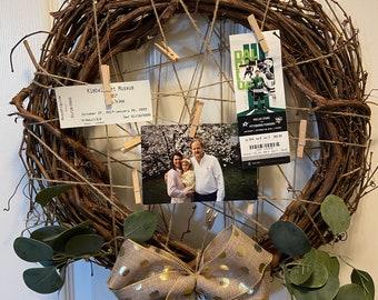 Grapevine Memory Wreath