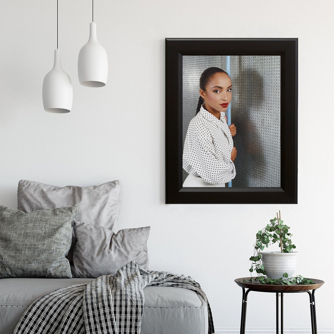 Cartel de retrato Sade Adu o impresión de arte / Sade Adu