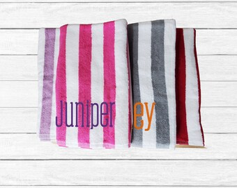 Personalized beach towel | Personalized Pool Towel | Kids Beach Towel | Kids Pool Towel | Beach Towel | Summer Towel