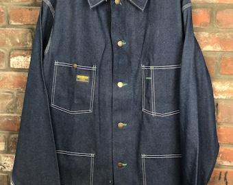 Vintage oshkosh denim jacket size 5 Made in Canada