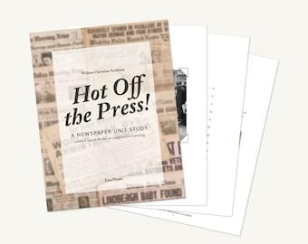Newspaper Unit Study for Homeschoolers