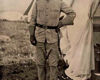 Teddy Roosevelt,_1898 St Saun Jaun Hill 8  x 10 Photo