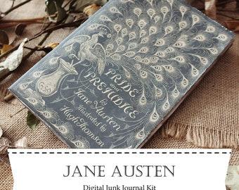Jane Austen Digital Junk Journal Kit