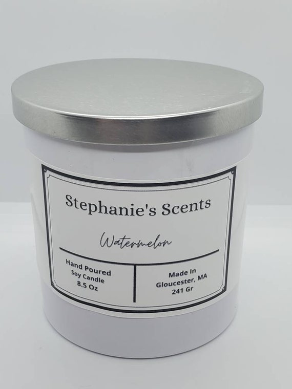 Hand poured Scented Candles Florece Candles chandelle soy wax scented candle Bubble Gum soy bougie home