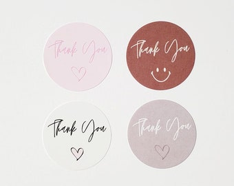 Thank You Stickers/Shipping/Product Packaging Sticker Label/Small Business Sticker/Small Round Stickers/Small Round Envelope Seals
