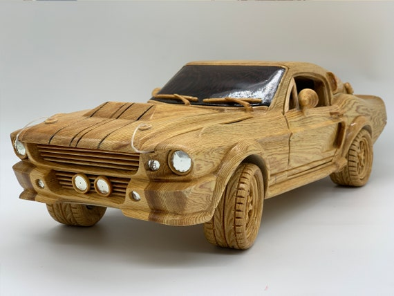 Woodworking Art - WA02: 1967 Ford Mustang GT500