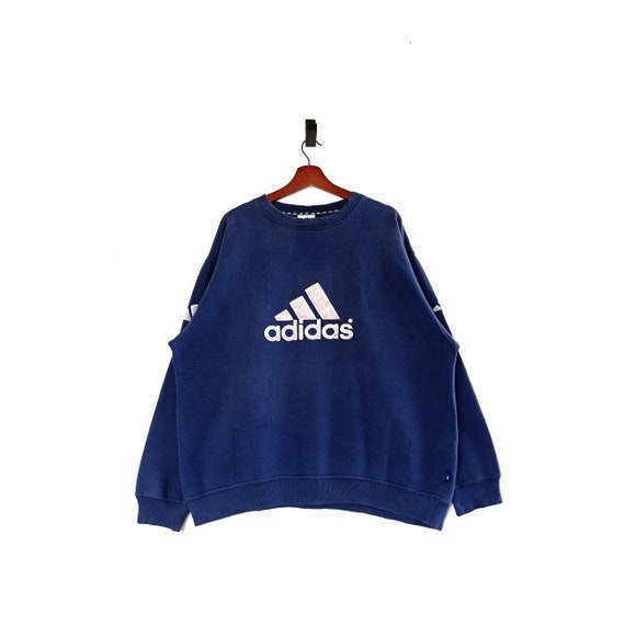 Vintage Adidas Equipment Big Logo Crewneck Pullove