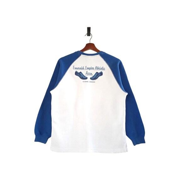 Nike Classic Logo Crewneck Raglan Sweatshirt - image 2