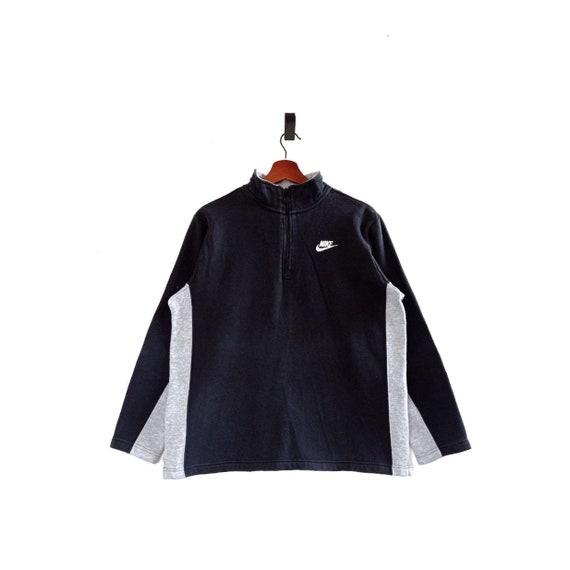 Vintage Nike Halfzip Fleece Sweatshirt