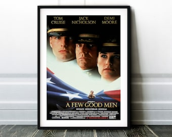1992 Poster American Legal Drama Movie Print Art  Gift A Few Good Men