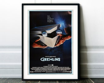 GREMLINS WE/'RE BACK MOVIE POSTER FILM A4 A3 A2 A1 PRINT CINEMA