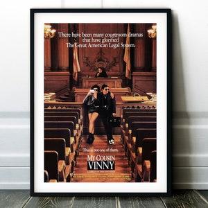 Wall Art Decor Minimalist Print My Cousin Vinny Movie Poster