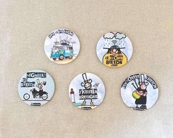 CORK coasters QUEEN AMANN round selection 2