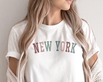New York Shirt - New York State T-shirt, New York Gifts, NYC Tshirts, New York Pride, NY Home, East Coast Shirt, NY College Tshirt, Eco Tee