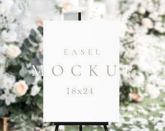 Easel sign mockup Wedding easel mockup Welcome sign mockup Bridal Shower Sign Mockup Blank easel mock up Seating Chart Mockup