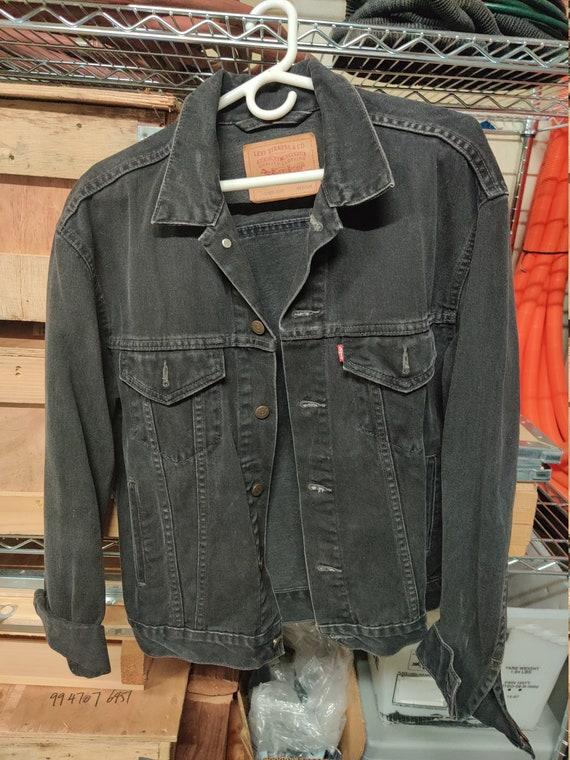 Black Denim Jacket - Levi