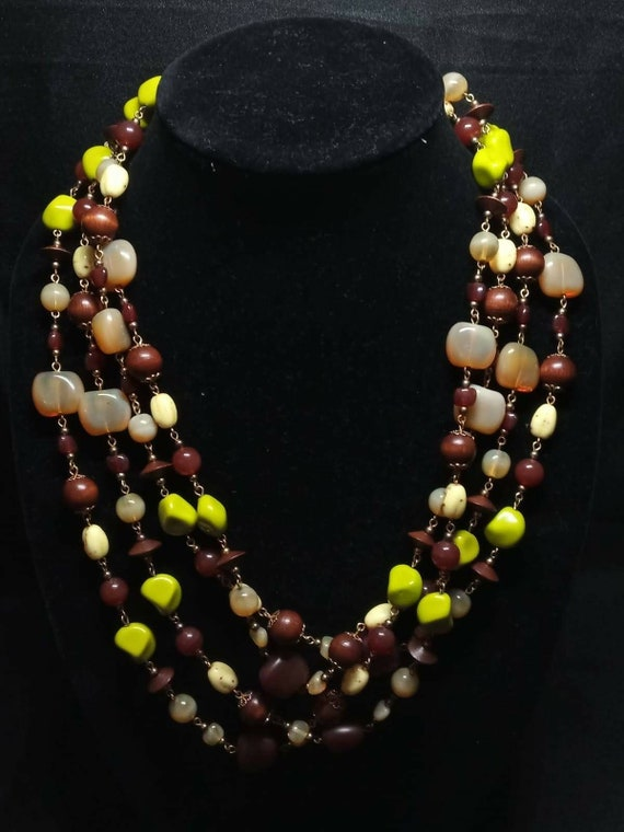 Joan Rivers Multi-Color Czech Glass Necklace