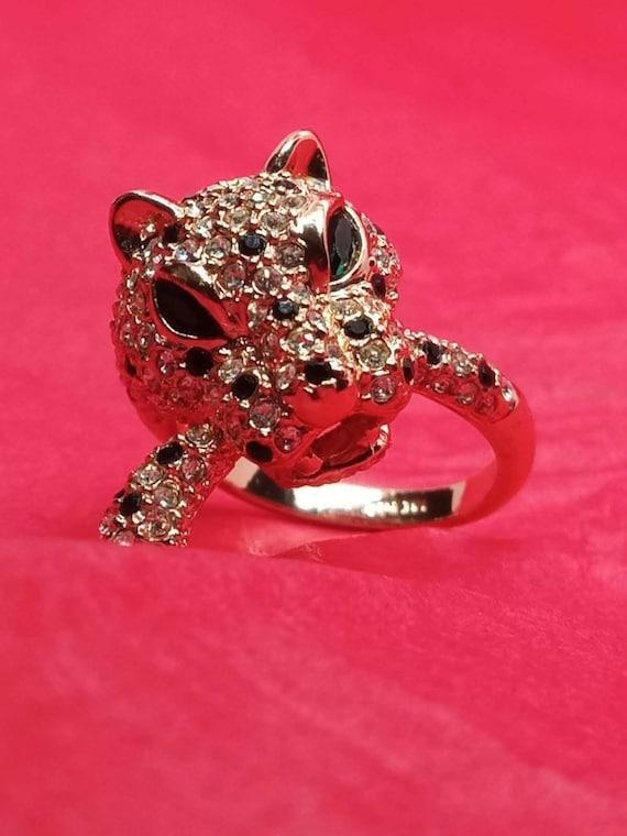 18K RGP Panther Ring