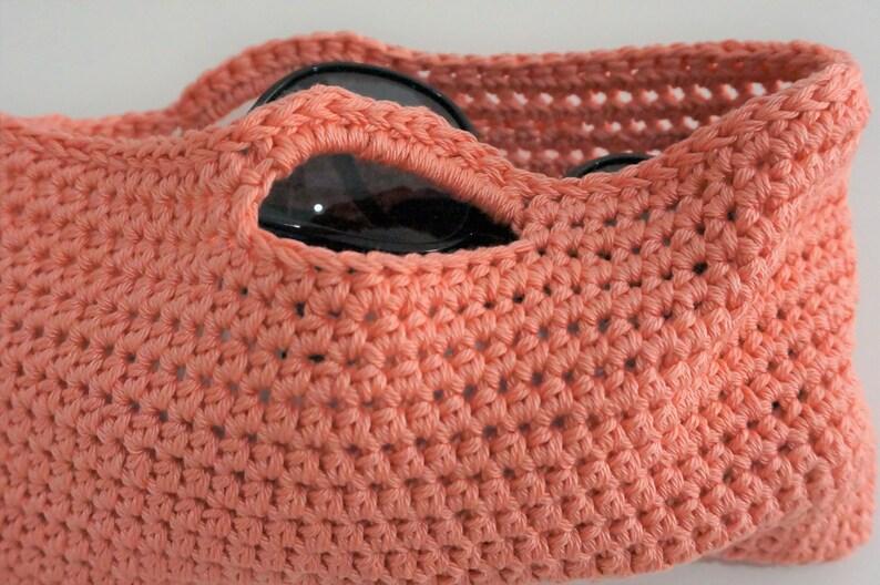 Mini summer crochet purse pattern image 0