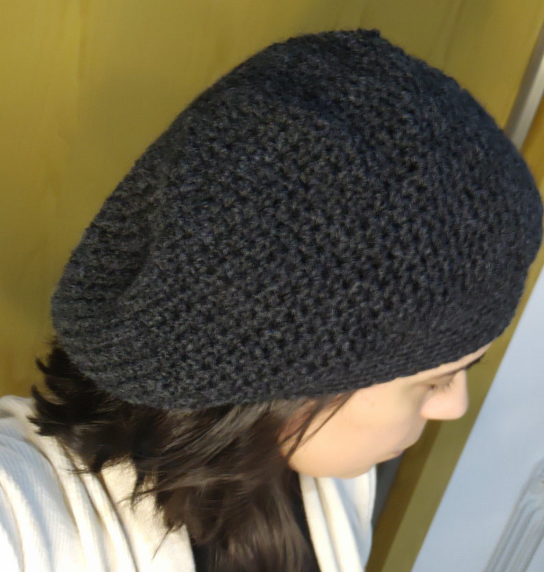 The Beret pattern crochet image 0