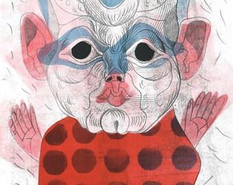 Little Man – Original one-off print