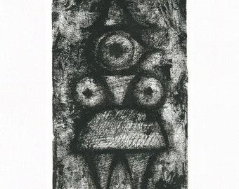The Queen – Original one-off print