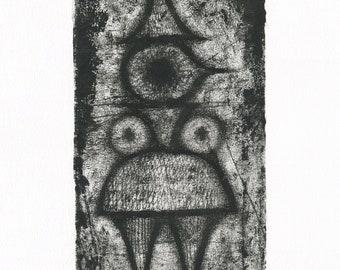 The Queen No 2 – Original one-off print