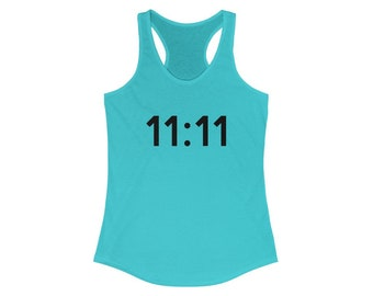 11:11 Manifestor Tank / Angel Numbers / Manifest / Visualize / Numerology / Law of Attraction / Universal Flow / Magic Hour / Manifestation