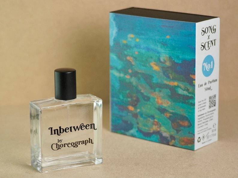 Inbetween by Choreograph Eau de Parfum SONG x SCENT 50 Millilitres