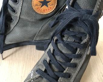 converse vintage leather