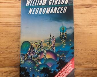 William Gibson, Neuromancer, Grafton, 1988, Tim White cover