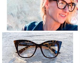 Safety Sasses® - Female Safety Glasses - Tortoise Shell