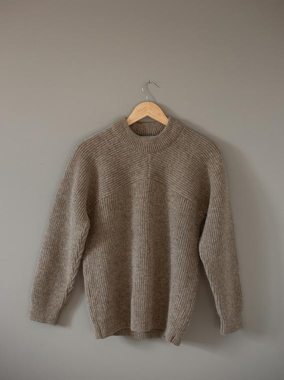 Wool Fishermans Sweater | New Zealand Wool Sweater