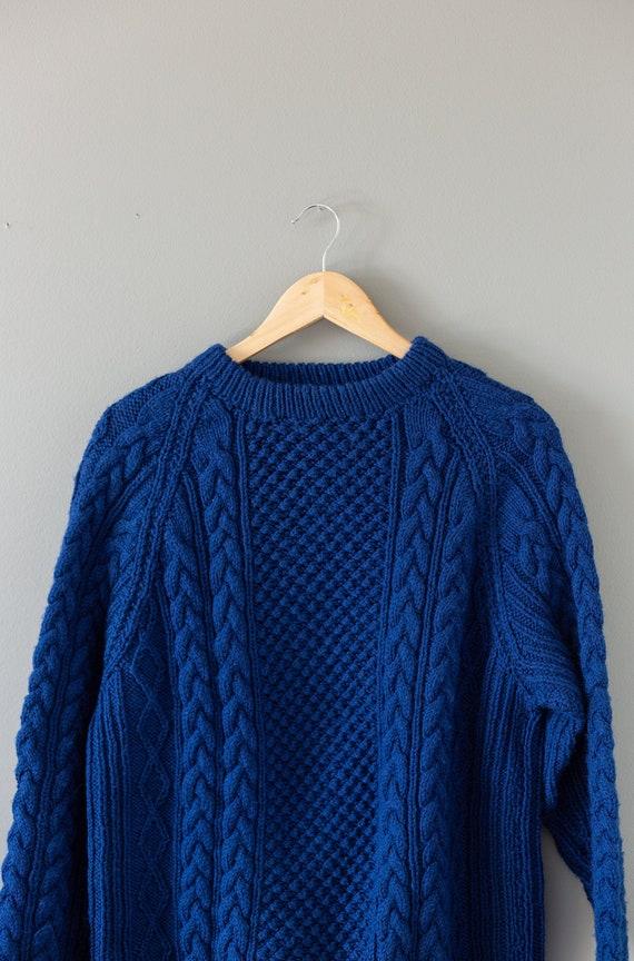 Vintage Cable Knit Sweater | Vintage Fishermans Sw