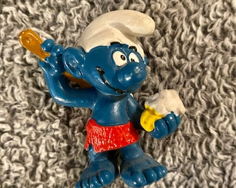 Figurine smurf smurf vintage annees 73 a 79 to choice from 3,95 €