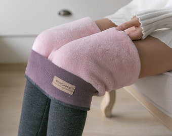 Winter Warm Leggings - High Waist Woman Pants - Warm Quality - Thick Velvet - Sweatpants