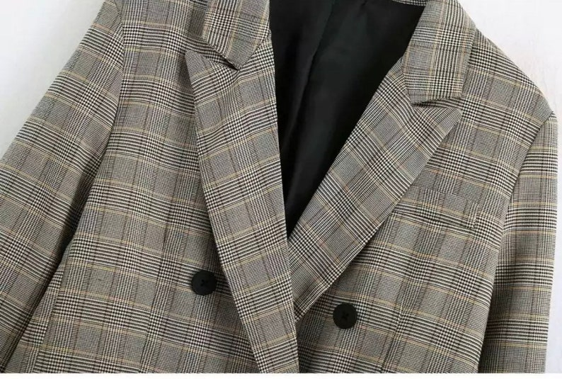Two piece suit #doublebreasted #brownsuit #blazer #suittrousers #officewear U.K 10