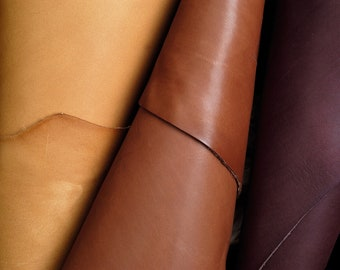 100% Real Genuine Veg Tan Leather Cow Hides Cut Pieces Remnants Scraps Offcuts Fur Pelts Tanned Leathercraft For Crafting P1048