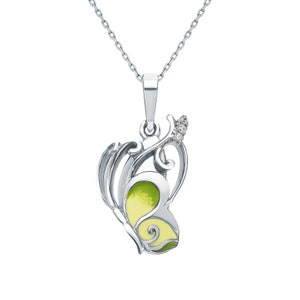 Necklace Sterling Silver with Zirconia inserts Sister Wife FREE SHIPPING. Vintage Mom TOP Quality HandMade Silver Gift for Her