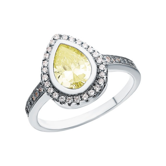 Silver Gift for Mom HandMade Ring 14K Gold Plated 925 Sterling Silver with Cubic zirconia inserts Wife FREE SHIPPING Sister Vintage