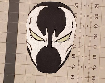 Spawn glow in the dark iron on patch, 7in*4.5in