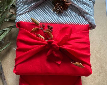 """East of India Craft Wedding /""""Surprise/"""" Grey White /& Red Gift Wrap Ribbons 3M"""