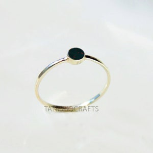 Custom Moonstone Ring Healing Crystal Wire Wrapped Crystal Handmade Dainty Ring Cute Easter Gift Mothers Day Gift for Her