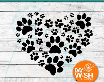 Paw Heart Png Etsy Free icons of paw print heart in various design styles for web, mobile, and graphic design projects. paw heart png etsy
